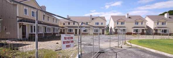 Should empty, unfinished houses, ghost estates be demolished?