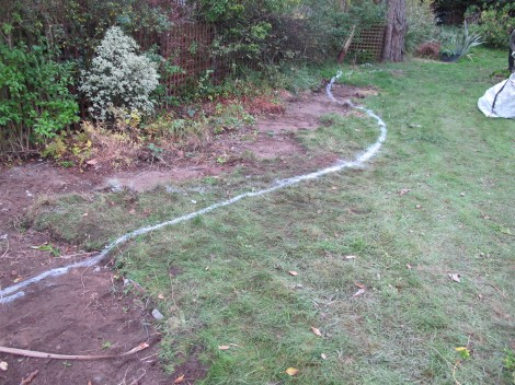 Landscape Gardening – Marking Out & Site Clearance