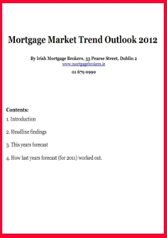 Mortgage Market Trend Outlook 2012