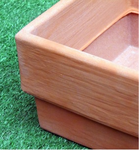 Herb box planter – practical elegance for every garden