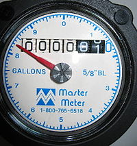 Only 15% of homes will have water meters by 2014