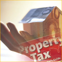 Average property tax estimated at €315