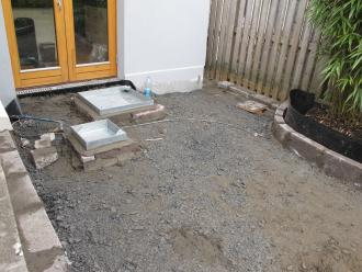 Garden design and landscaping project in Drumcondra, Dublin