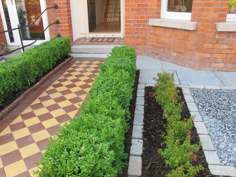 Design and landscaping the garden of an Edwardian property in Terenure