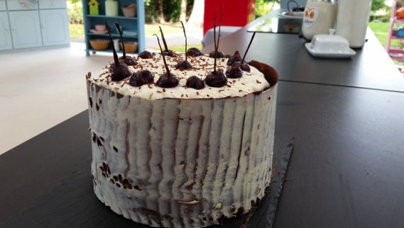 Neil's Black Forrest Gateau